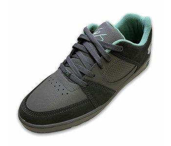 Es Accel Slim X  Shmatty Charcoal/Green Shoe