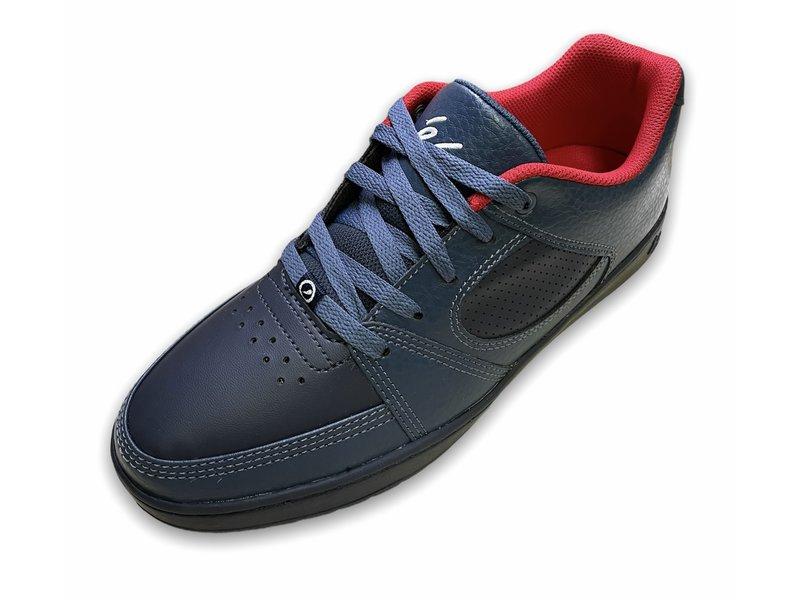 Es Footwear Es Accell Slim Navy/Red Shoe