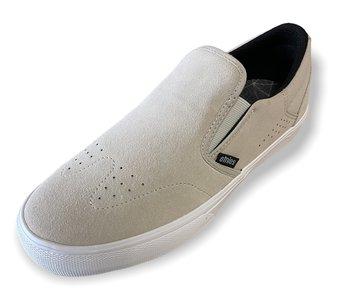 Etnies Marana Slip White Suede Shoe