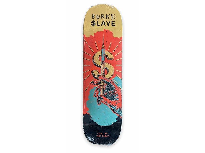 Slave Slave Sign Of The Times Burke 8.5 Deck