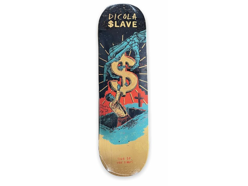 Slave Slave Sign Of The Times Dicola 8.675 Deck