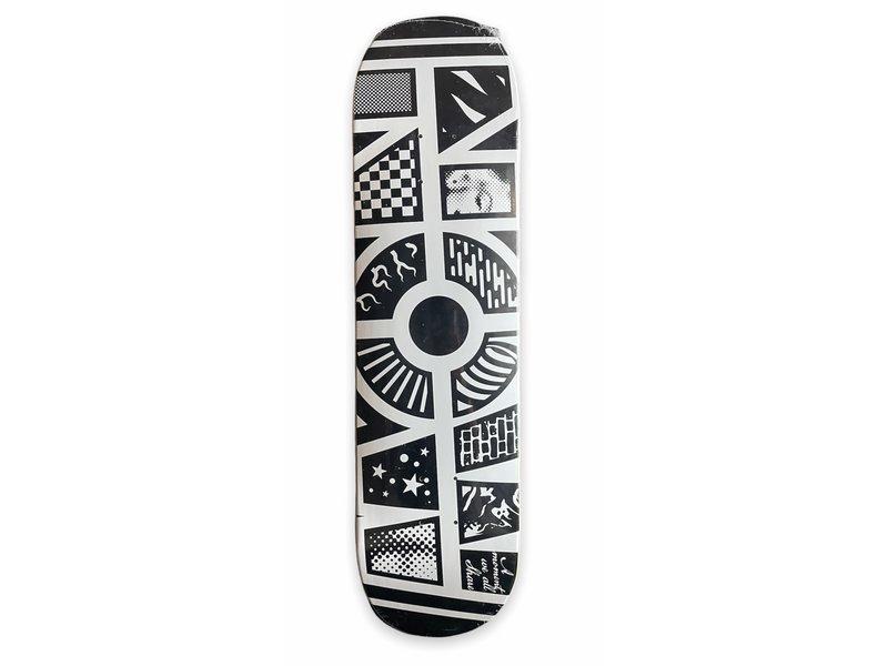 NOW Skateboards Now Neon Pop 8.0 Deck