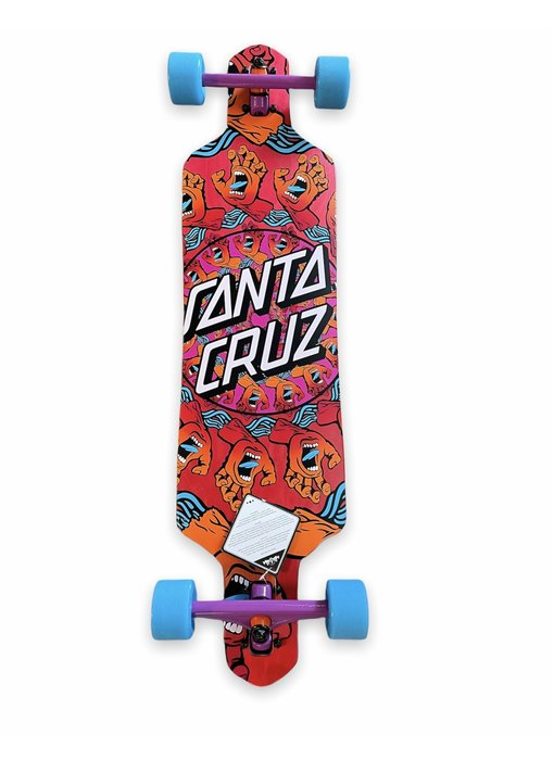 Santa Cruz Mandala Hand 9.0 Cruzer Complete