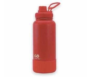 Highland Peak 32OZ Red Bottle