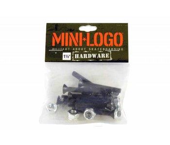 Mini Logo Hardware Black  1.25