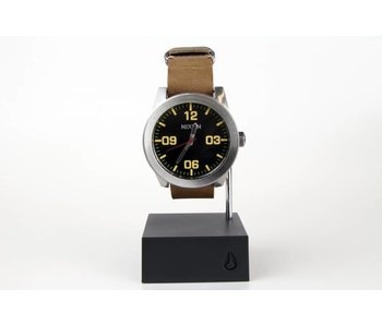 Nixon Silver/Black/Brown Corporal Watch