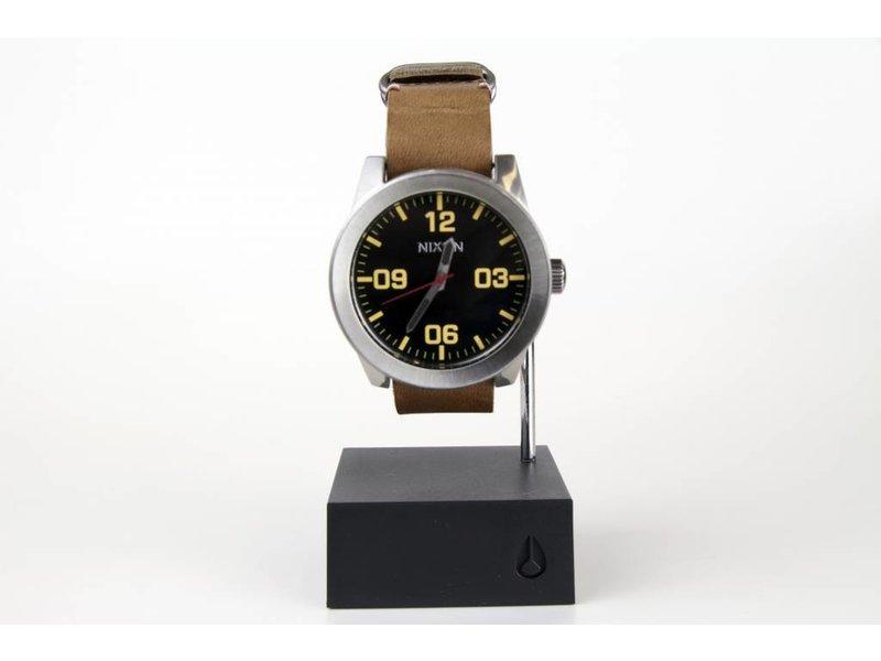 Nixon Nixon Silver/Black/Brown Corporal Watch