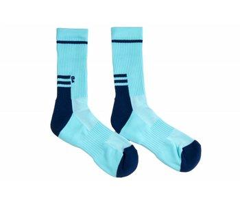 Psockadelic Smooth Lt Blu Sock