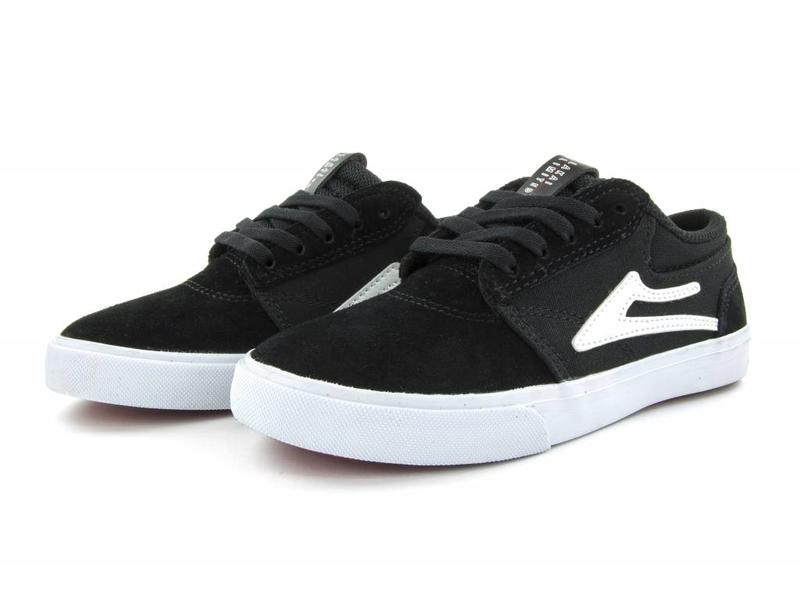 Lakai Lakai Griffin Kids Black/White Shoes