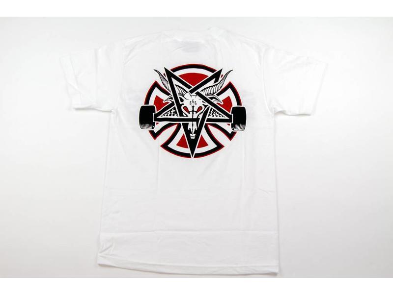 Independent Thrasher Independent Pentagram Cross Shirt