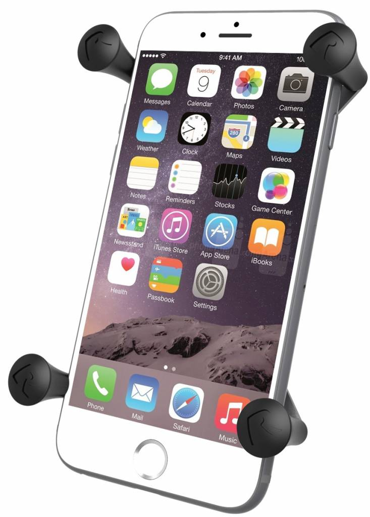"""RAM UNIVERSAL X-GRIP® IV LARGE PHONE/PHABLET HOLDER WITH THE 1"""" BALL"""