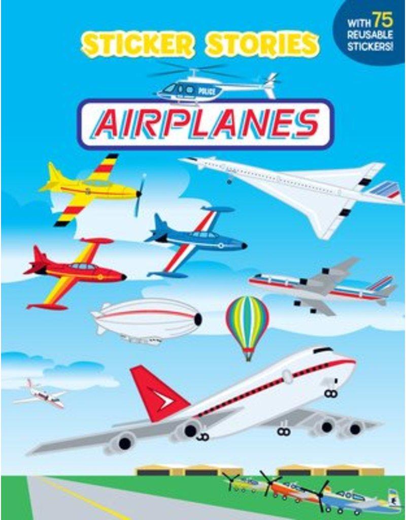 STICKER STORIES - AIRPLANES, MILLER