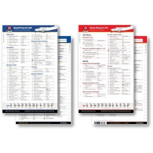Cessna 172N Checklist Qref card