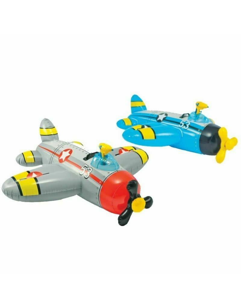 "Ride-On Water Gun Plane 52"" X 51"", floater with water gun"