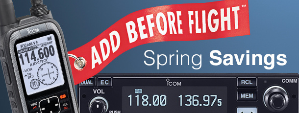 ICOM Spring Savings