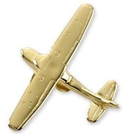 Cessna 172 Airplane Pin - Gold