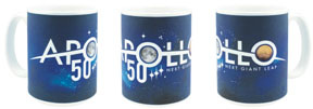 Apollo 50th Anniversary Mug