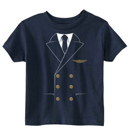 PILOT UNIFORM T-SHIRT, TODDLER