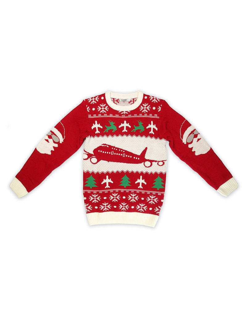UGLY CHRISTMAS SWEATER, CLEARED FOR CHRISTMAS