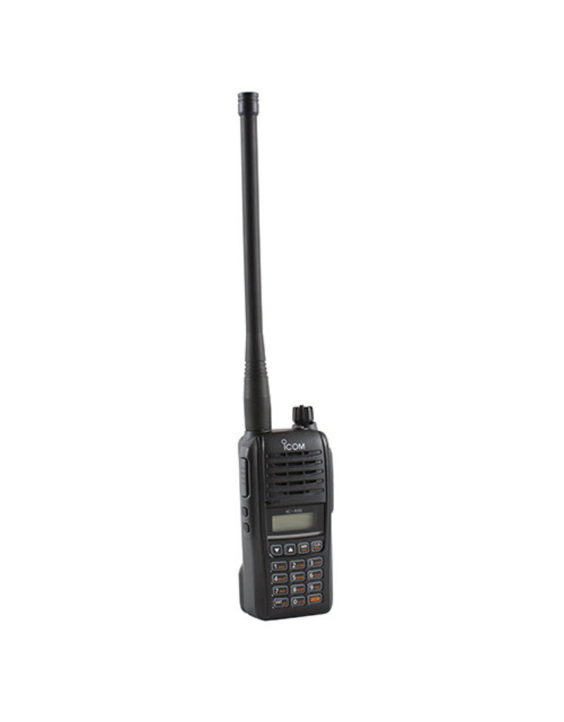 ICOM IC-A16 VHF Air Band Handheld Transceiver Radio | Communications Only, DTMF Keypad