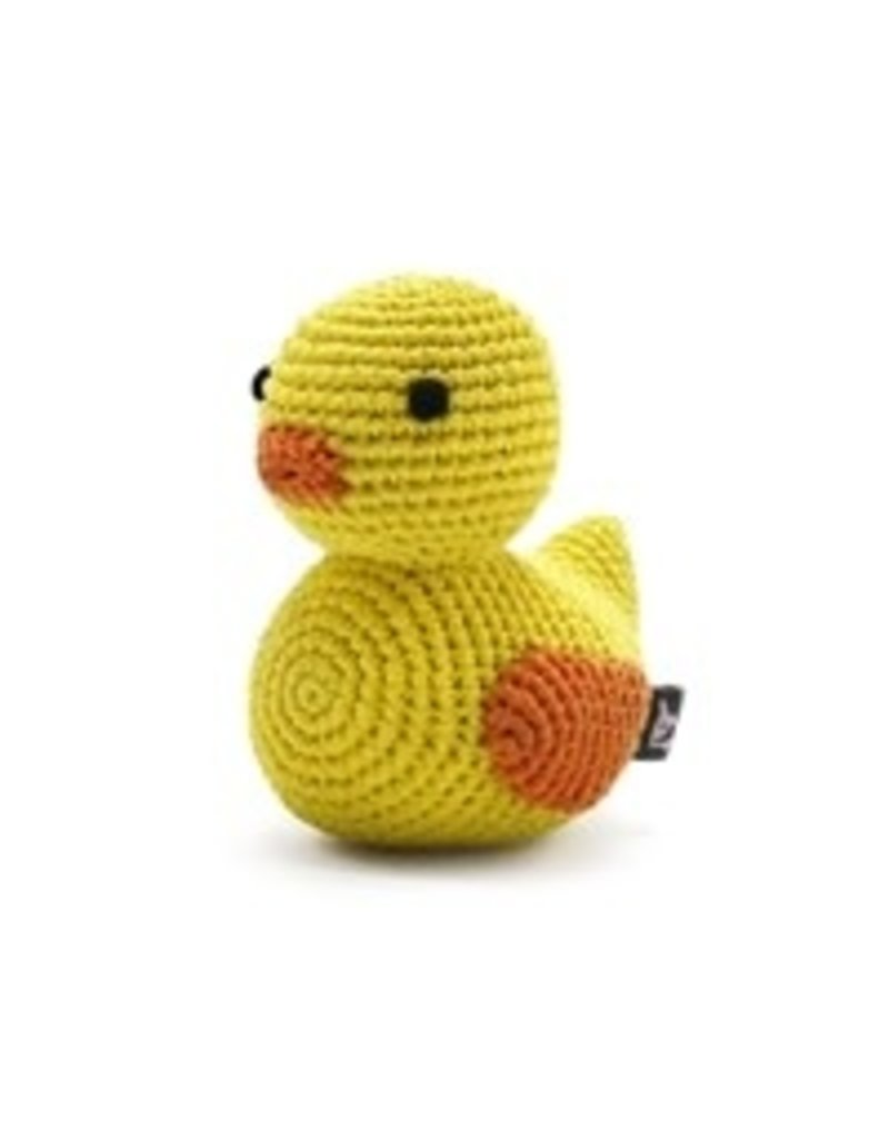 Duck PAWer Squeaky Toy