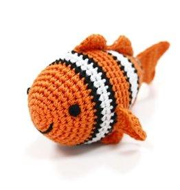 CLOWN FISH PAWer Squeaky Toy