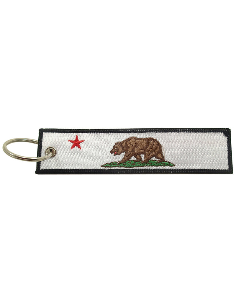CALIFORNIA Embroidered Key Chain