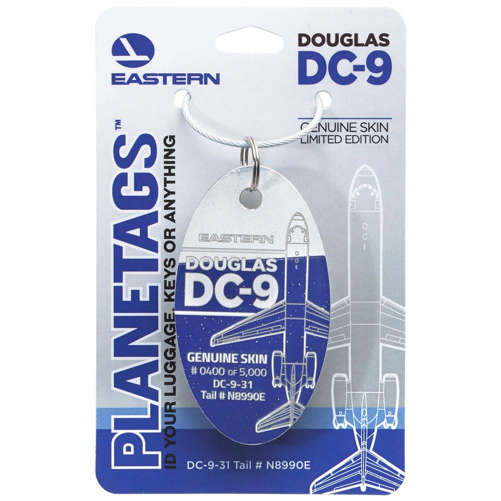 PLANETAGS, EASTERN DC-9