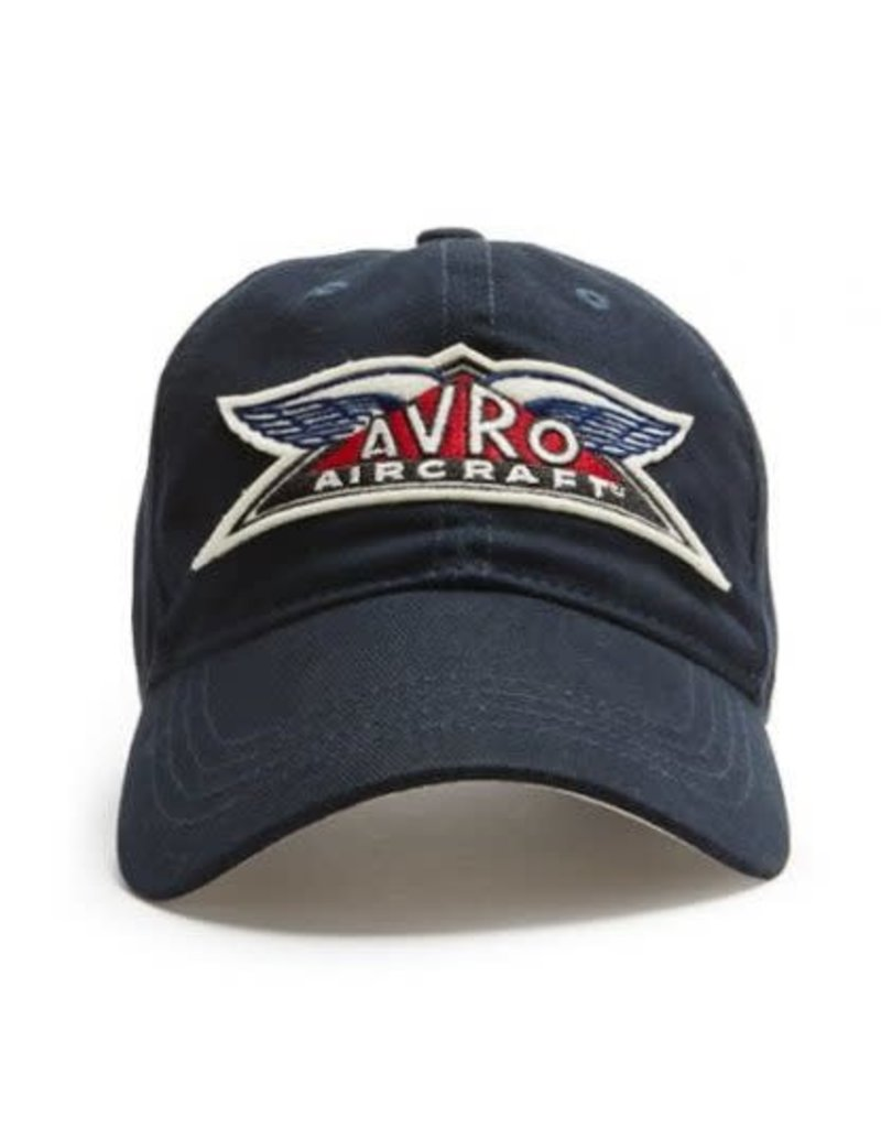 RED CANOE AVRO AIRCRAFT CAP, NAVY