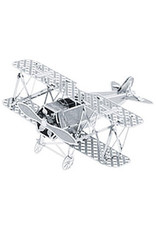 Metal Biplane Puzzle