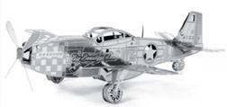 P-51 Metal Puzzle