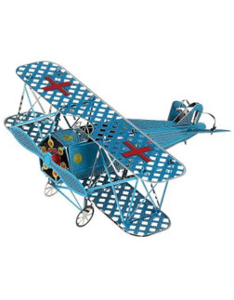 Colored Biplane Metal Puzzle