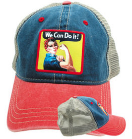 Rosie The Riveter Hat