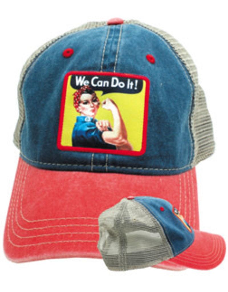 Rosie The Riveter Hat