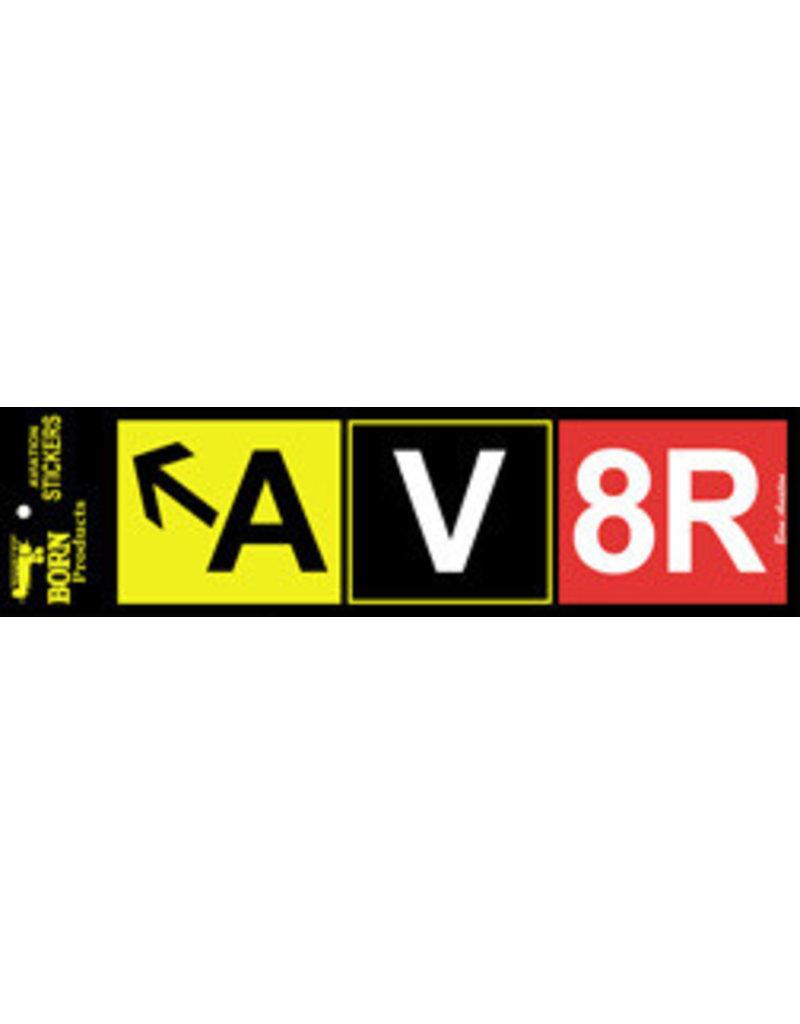 AV8R BUMPER STICKER
