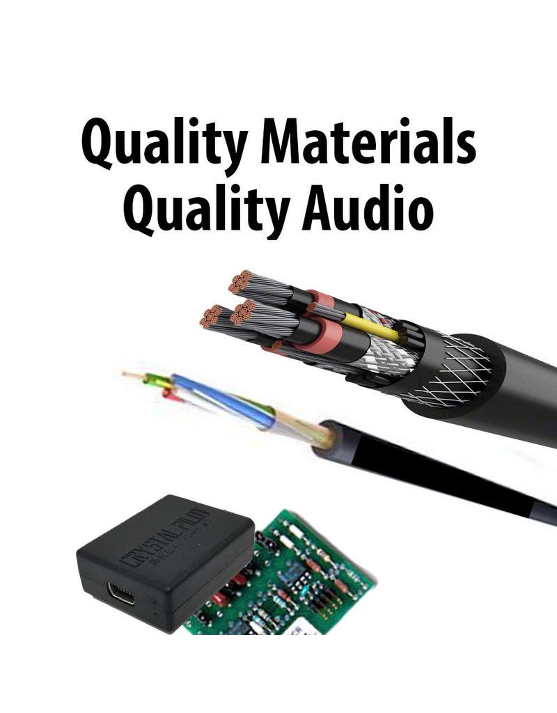 Crystal Pilot GA Recording Cable w/ P Adapter