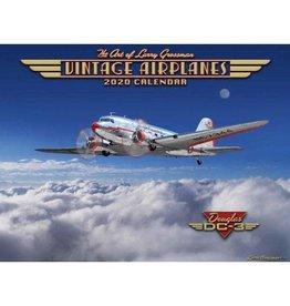Vintage Airplanes 2020 Calendar