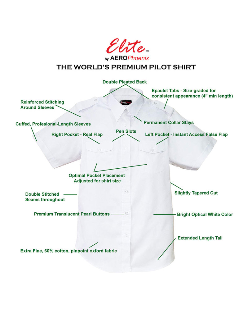 ELITE SHIRT, SS, MENS, WHITE