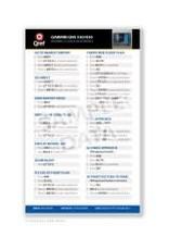 QREF Garmin GNS 530/430 Qref Card