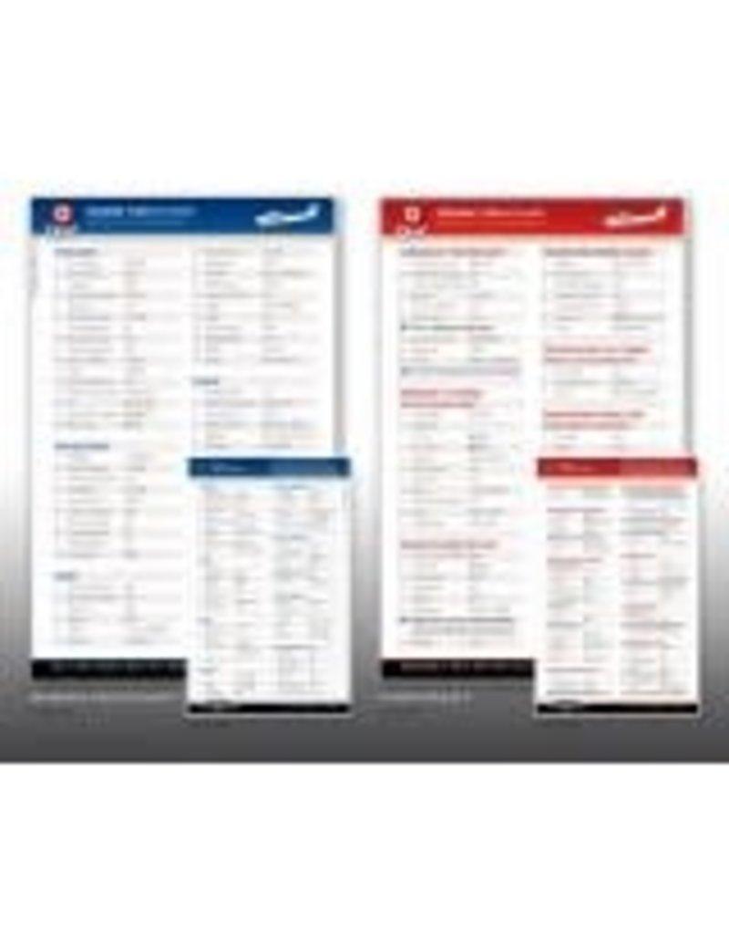 QREF Cessna 172S Checklist Qref card