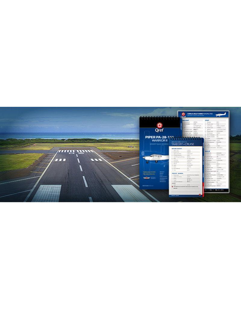 QREF AIRCRAFT CHECKLIST CARD