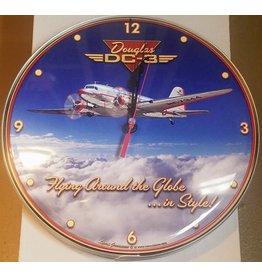 DOUGLAS DC-3 Clock