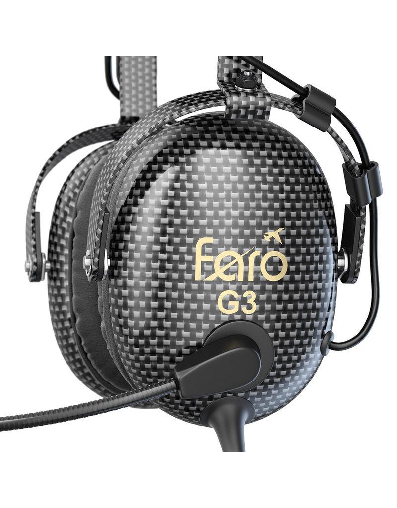 FARO G3 ANR CARBON FIBER HEADSET