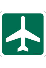 MOUSE PAD, AIRPORT AHEAD