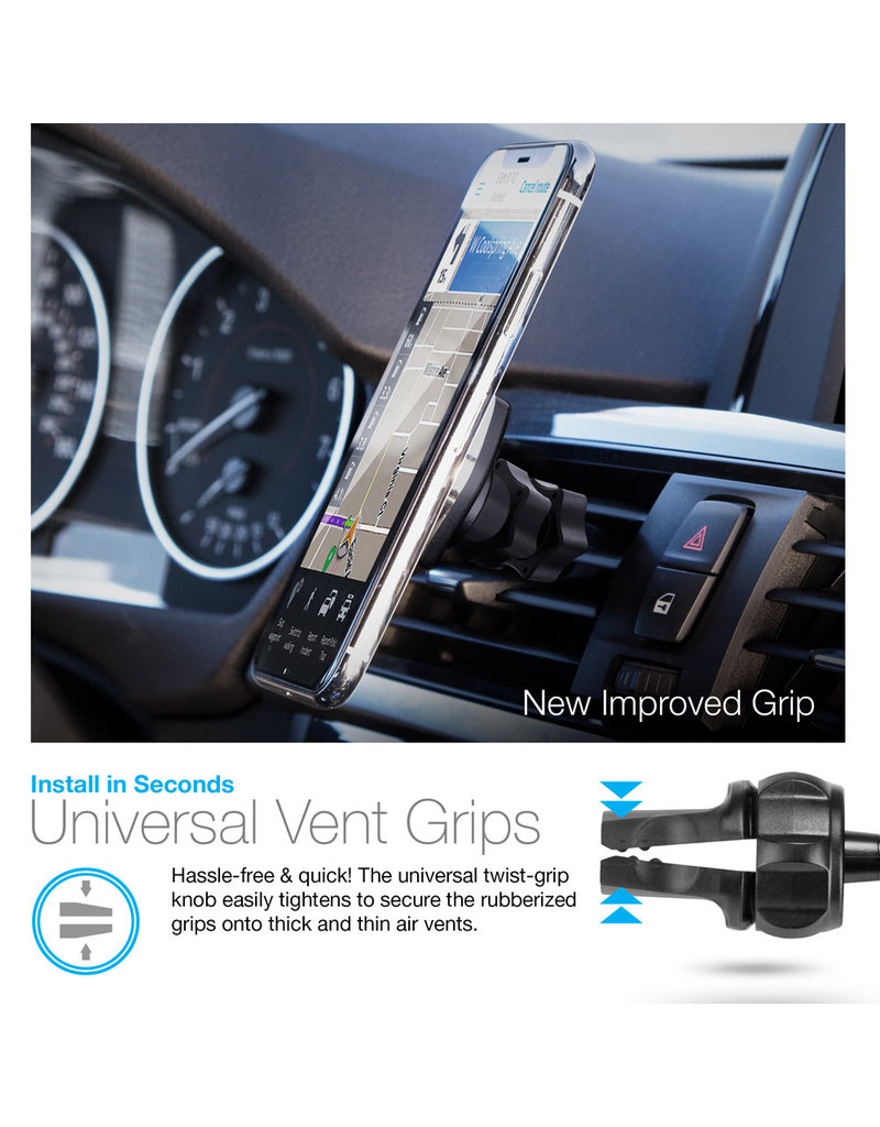 HYPERCELL MAGBUDDY VENT, UNIVERSAL MAGNETIC MOUNT