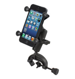 RAM YOKE MOUNT BASE WITH UNIVERSAL X-GRIP HOLDER FOR iPHONE / CELL PHONE