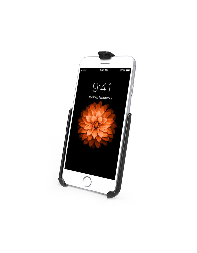 RAM EZ-ROLL'R™ CRADLE FOR THE APPLE iPhone 6 WITHOUT CASE, SKIN OR SLEEVE