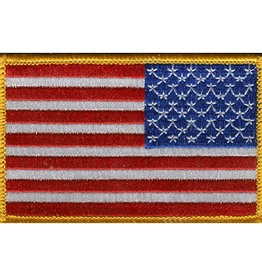 "USA FLAG PATCH, 3.5"" X 2.25"", RIGHT HAND"