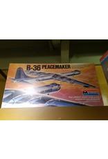 B-36 PEACEMAKER 1:72 SCALE MONOGRAM
