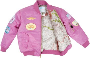 a888dbe31 MA1 FLIGHT JACKET/PINK W/PATCHES
